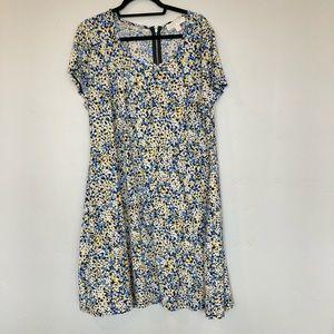 Michael Kors floral dress 2X